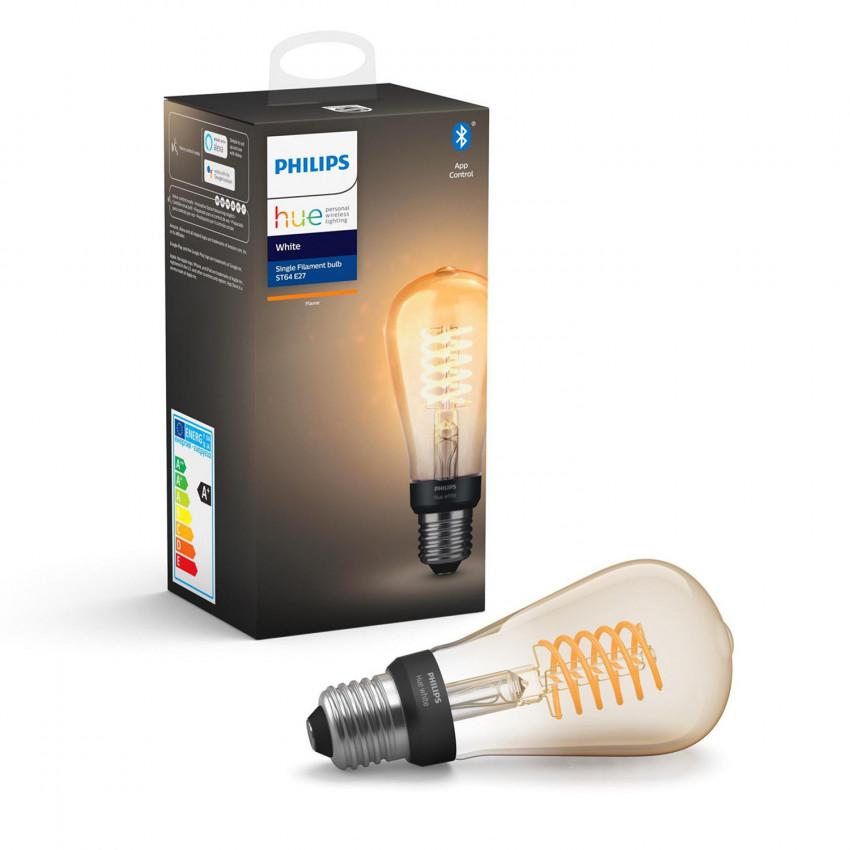 Ampoule E27 Filament White ST64 Edison 7W PHILIPS Hue