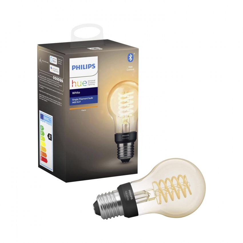 Ampoule E27 Filament White A60 7W PHILIPS Hue