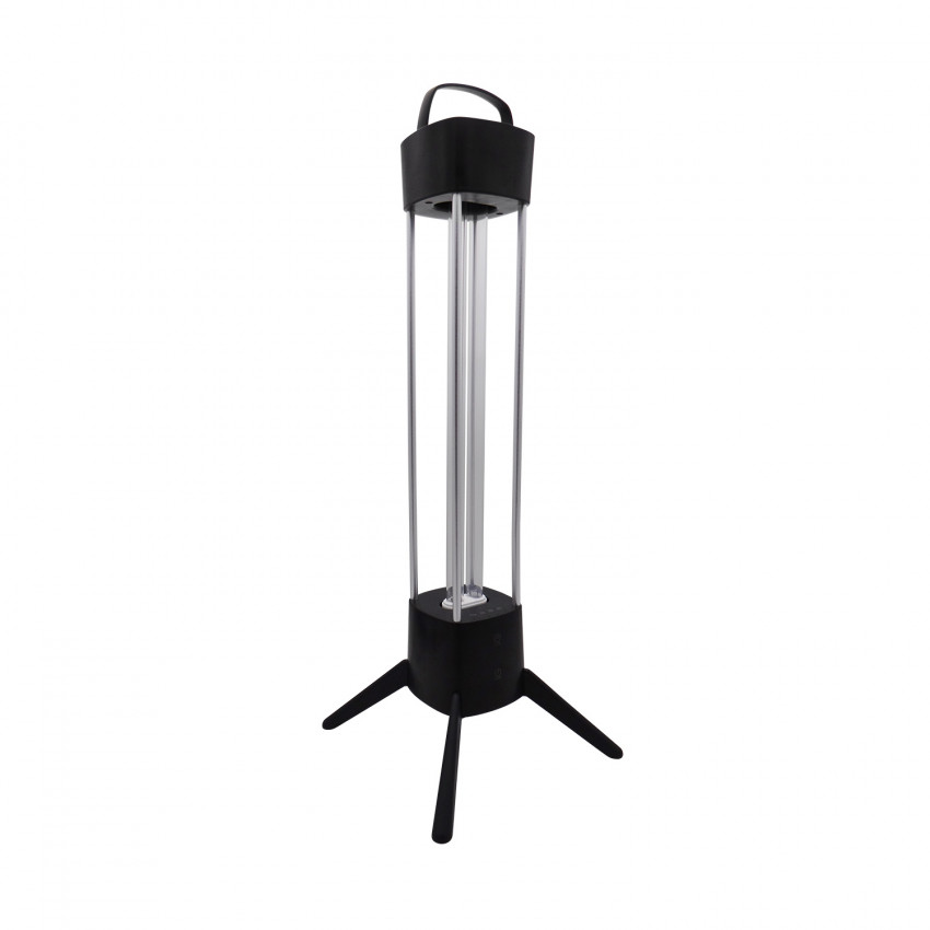 Lampe de Table avec Tube PHILIPS UVC Germicide 36W pour Désinfection avec Détecteur de Présence