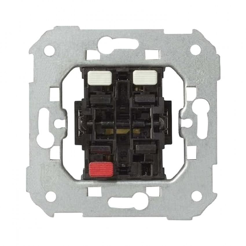 Interrupteur Double Simon 82 75133