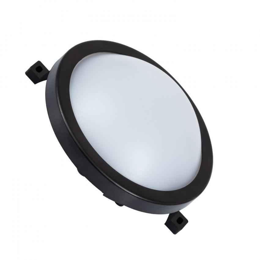 Plafonnier LED Rond New Hublot 12W Black