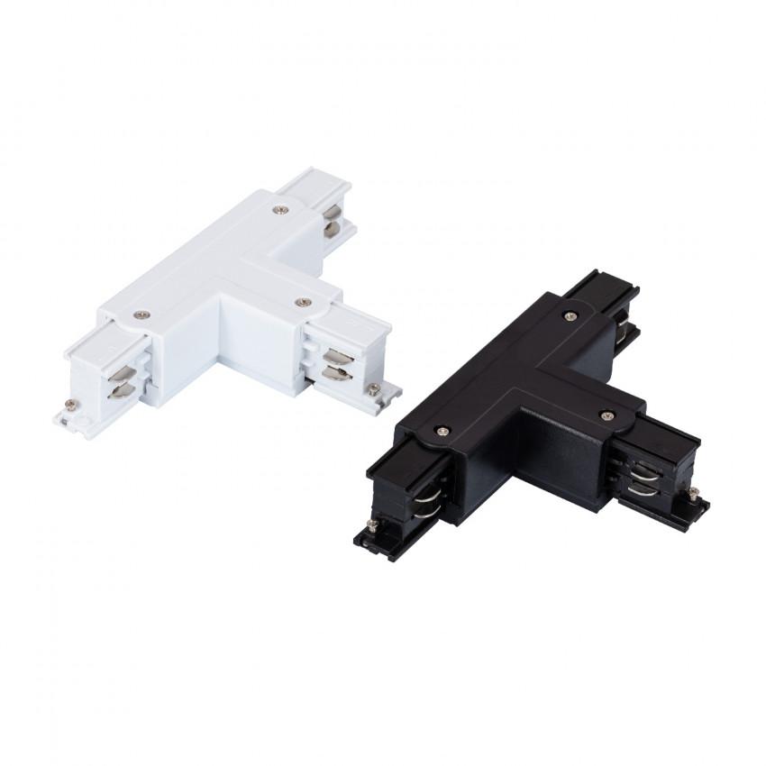 Connection 'Left Side' Type T pour Rail Triphasé (3 Allumages)
