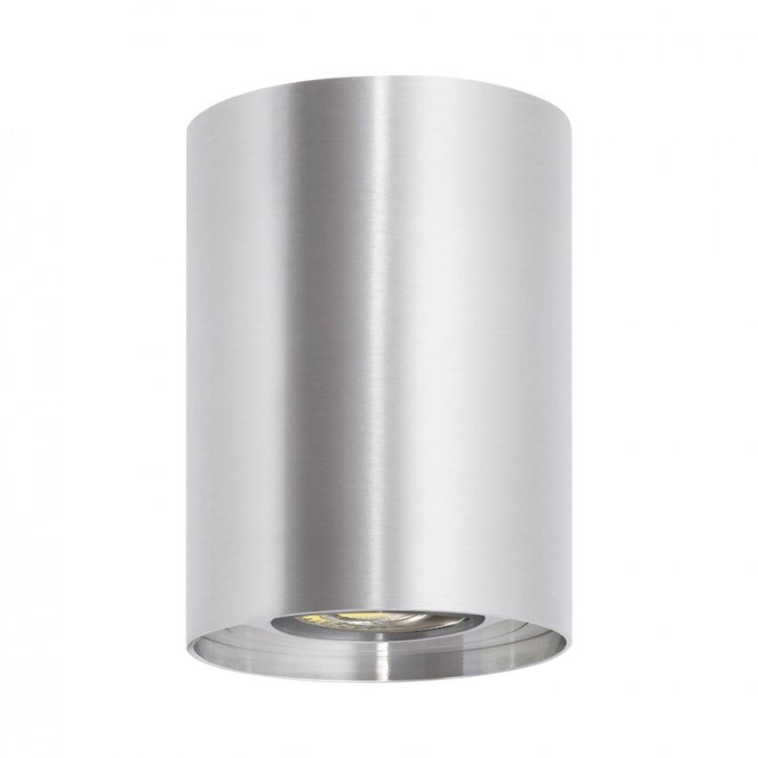 Plafonnier Quartz Aluminium Argenté