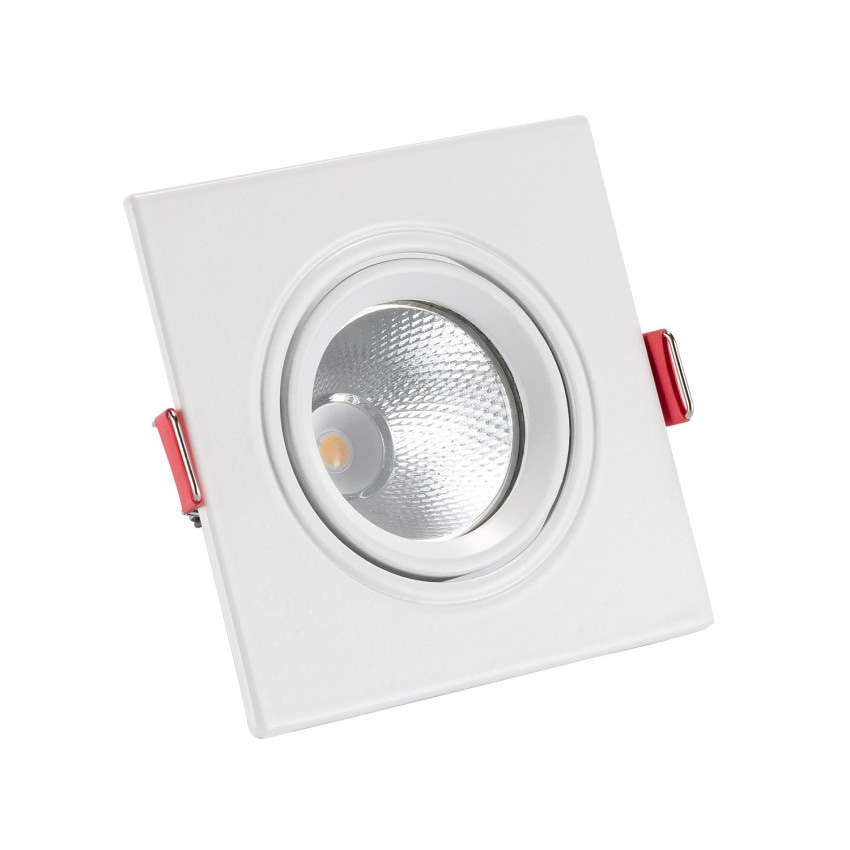 Spot LED Downlight Carré New Manhattan 5W Coupe Ø 75 mm