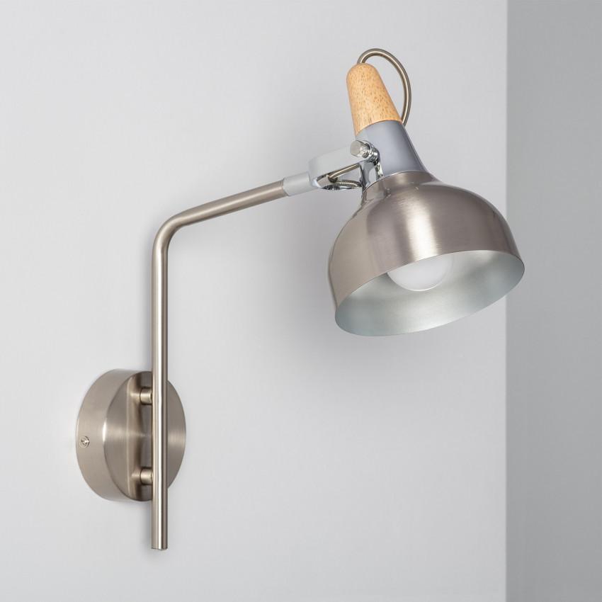 Lampe Murale Orientable Bras Supérieur Emer 1 Spot Argenté