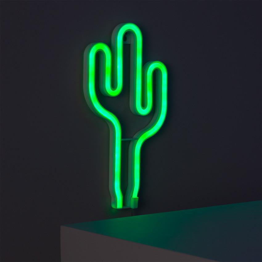Néon LED Cactus