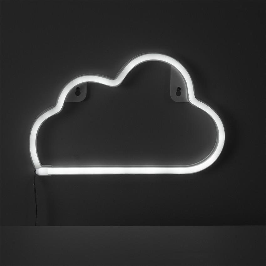 Néon LED Cloud à Piles