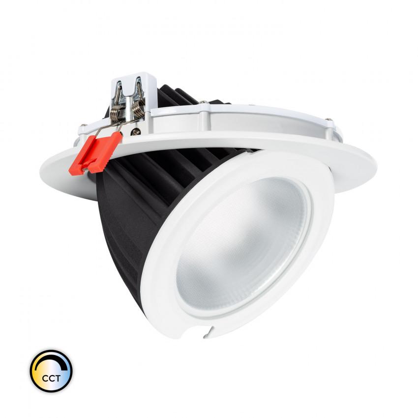Projecteur LED SAMSUNG 125lm/W Orientable Rond 48W CCT Sélectionnable LIFUD