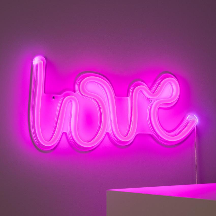 """Enseigne Néon LED """"LOVE"""""""