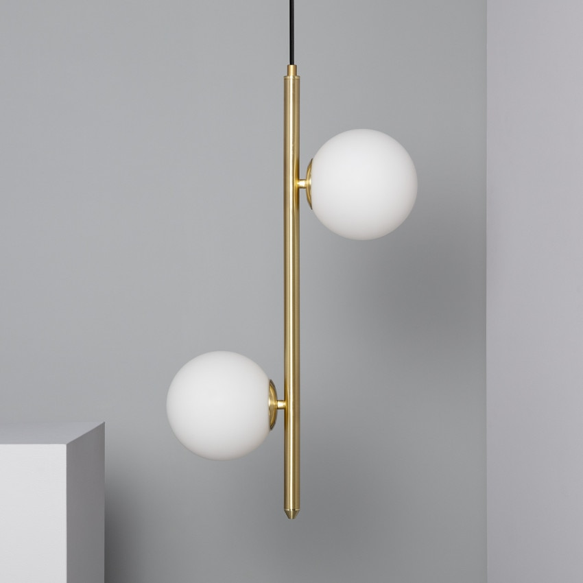 Lampe Suspendue Moonlight Double