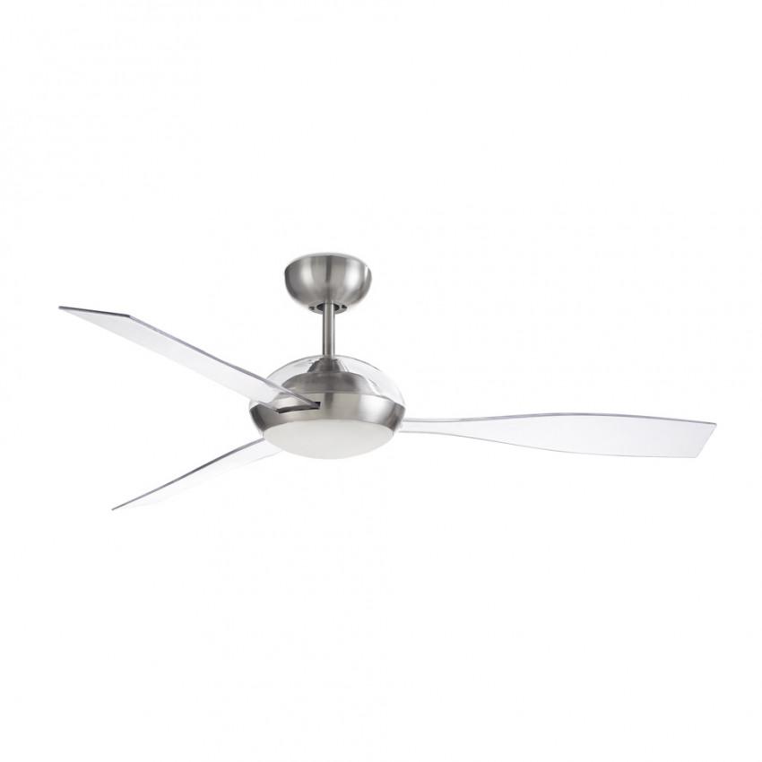 Ventilateur de Plafond LED Sirocco Niquel 132cm Moteur DC LEDS-C4 30-7657-81-EC