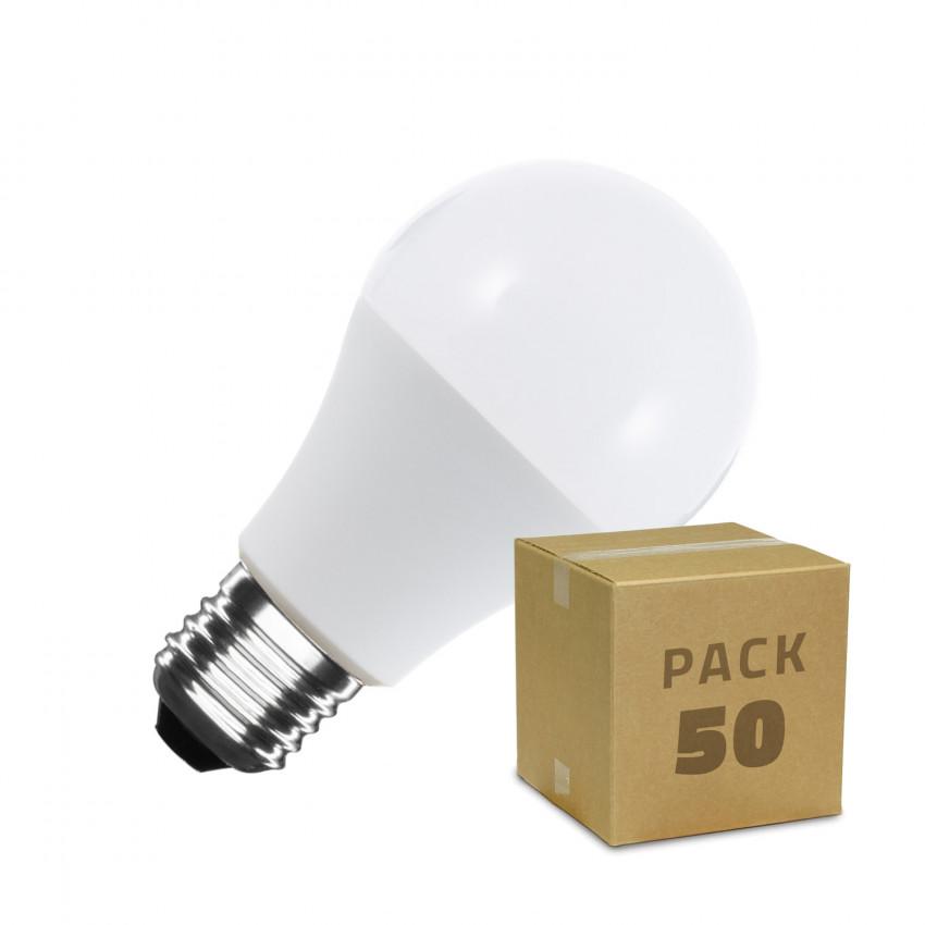 Boîte de 50 Ampoules LED E27 A60 10W Blanc Neutre