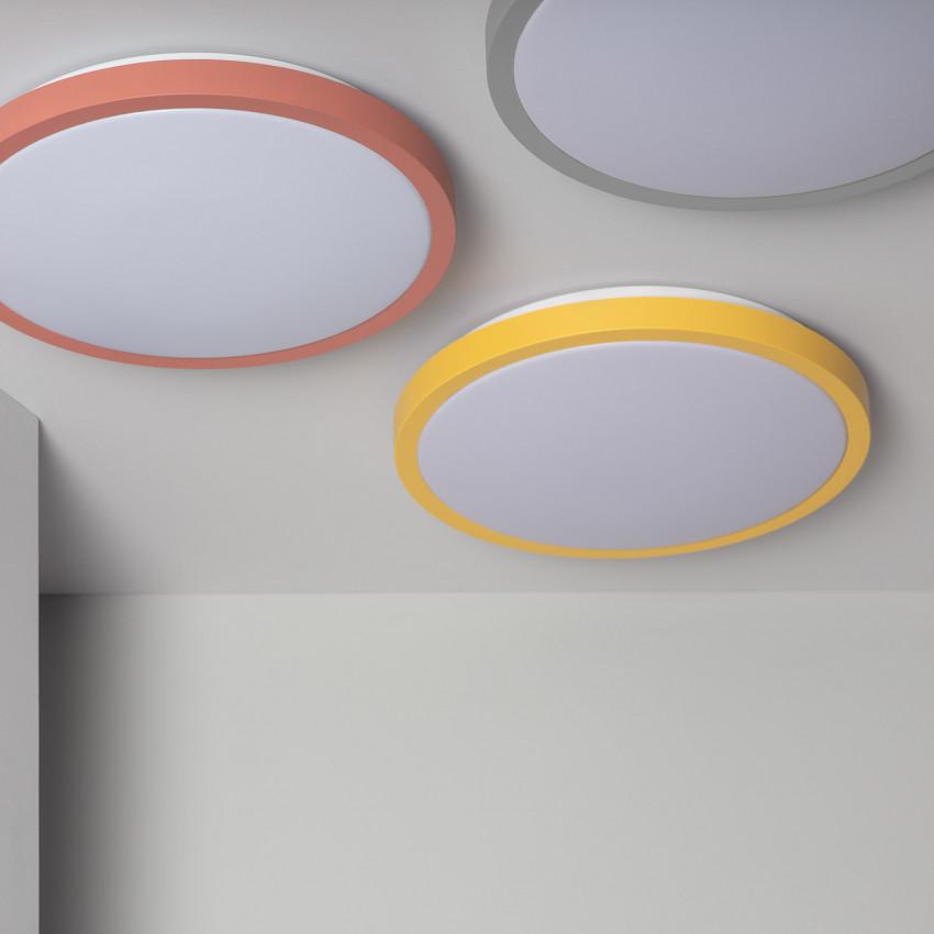 Plafonnier LED Rond CCT Sélectionnable Faina 19W