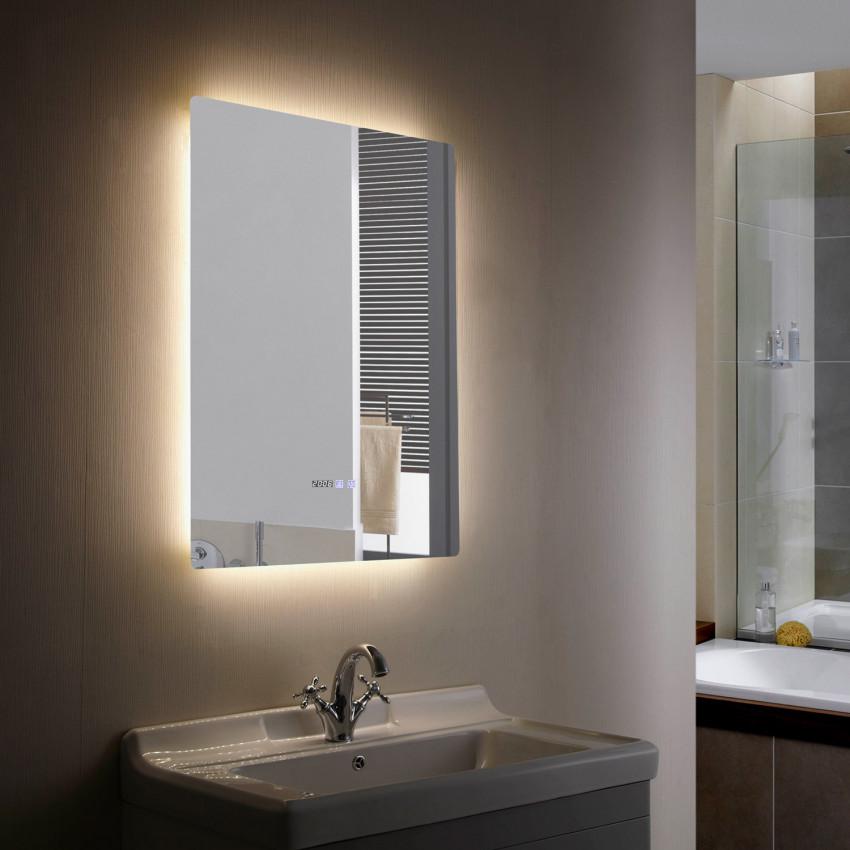 Miroir Décoratif LED Anti-buée Tactile Grace