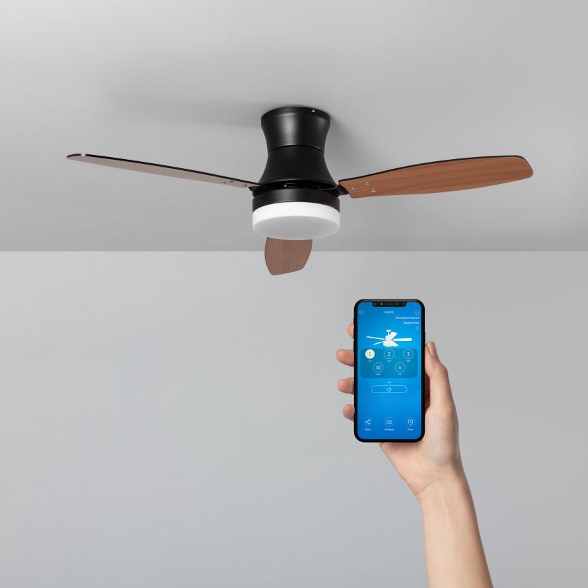 Ventilateur de Plafond LED Diabol 132cm Moteur AC WiFi