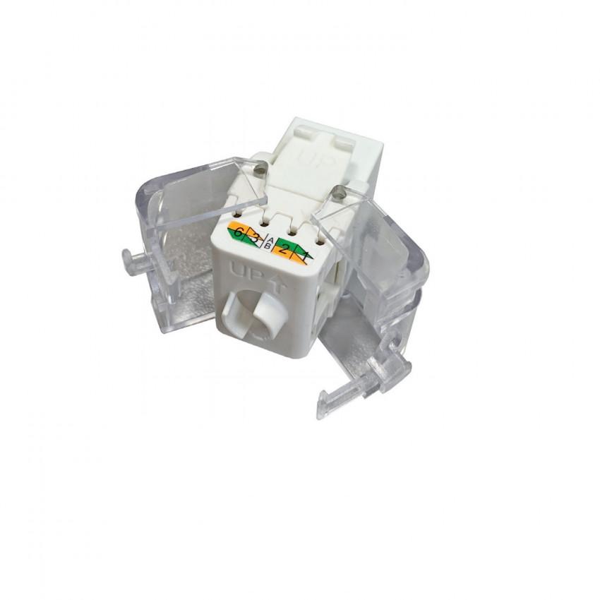 Connecteur Slim Femelle RJ45 UTP CAT6 Tool-less OPENETICS 5822