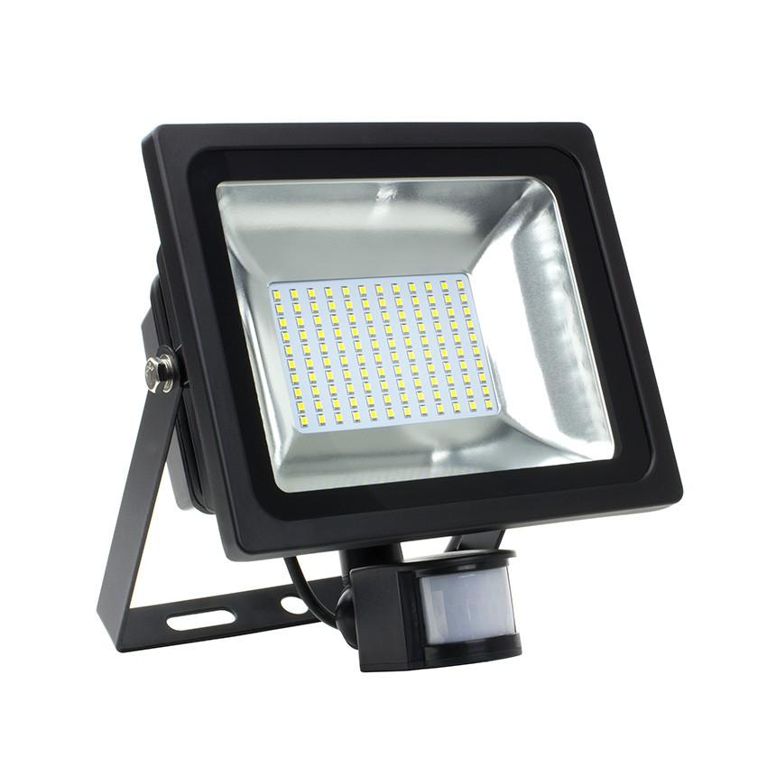 Projecteur LED avec Détecteur Blanc Neutre 50W