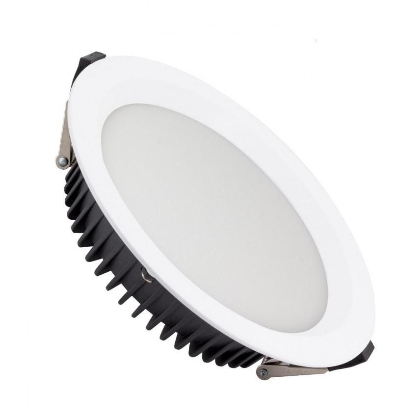 Downlight LED SAMSUNG New Aero Slim 130lm/W 50W (UGR17) LIFUD Coupe Ø 200mm