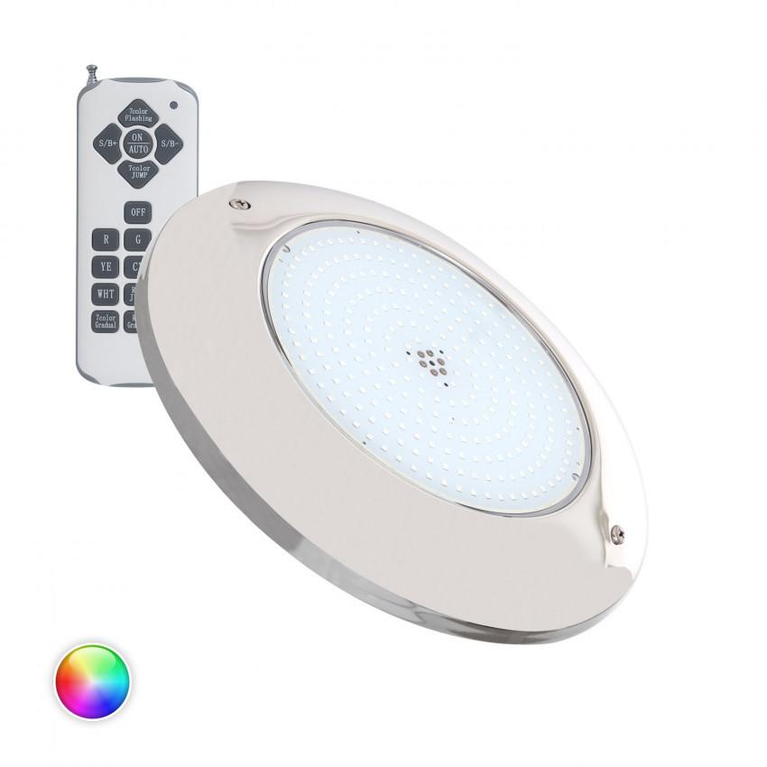 Spot LED Piscine en Saillie Inox RGB 12V AC 20W