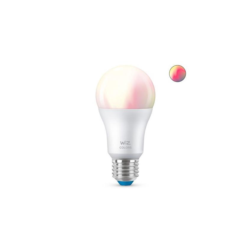 Ampoule LED Smart WiFi + Bluetooth E27 A60 RGB+CCT Dimmable WIZ 8W