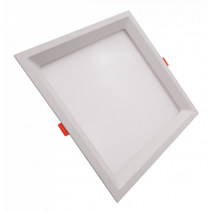 Dalle LED Carrée Slim 16W CCT Sélectionnable LIFUD (UGR17) Coupe 150x150mm