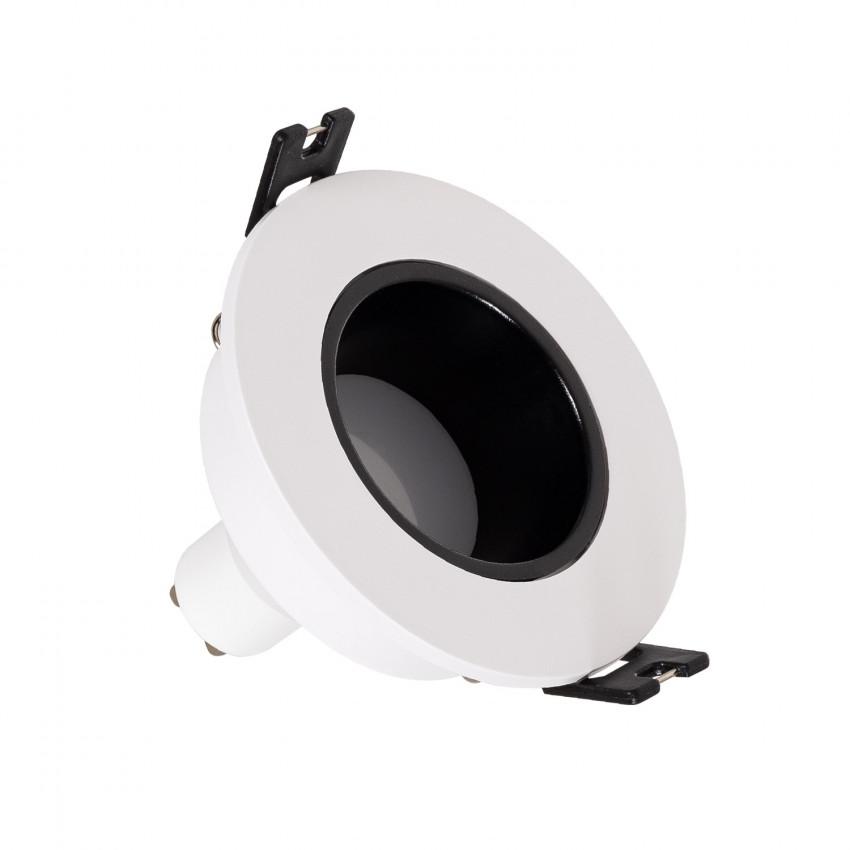 Spot Downlight Conique GU10 6W Coupe Ø 75mm Faible UGR PC