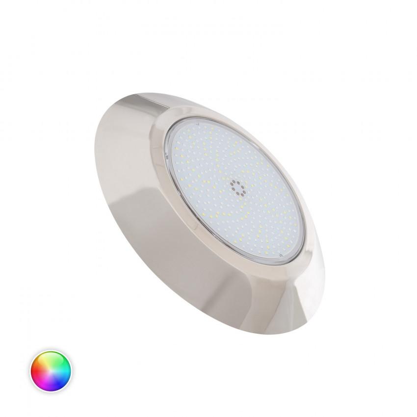 Spot LED Piscine en Saillie Inox RGBW Premium IP68 12V DC 24W