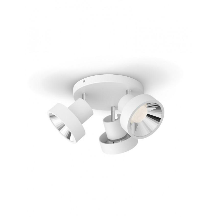 Plafonnier LED PHILIPS 3 Spots Bukko 3x4.3W