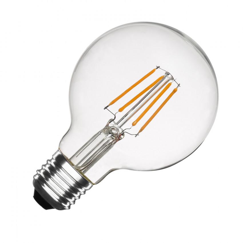 Ampoule LED E27 Dimmable Filament Globe G80 6W
