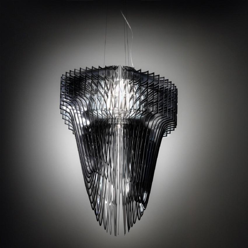 Lampe Suspendue LED Aria XL Black Fade SLAMP