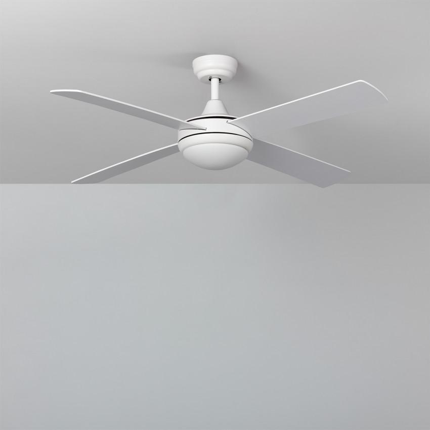 Ventilateur de Plafond LED Baffín Blanc 132cm Moteur DC