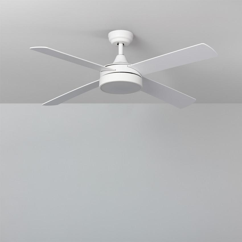 Ventilateur de Plafond LED Timor Blanc 132cm Moteur DC