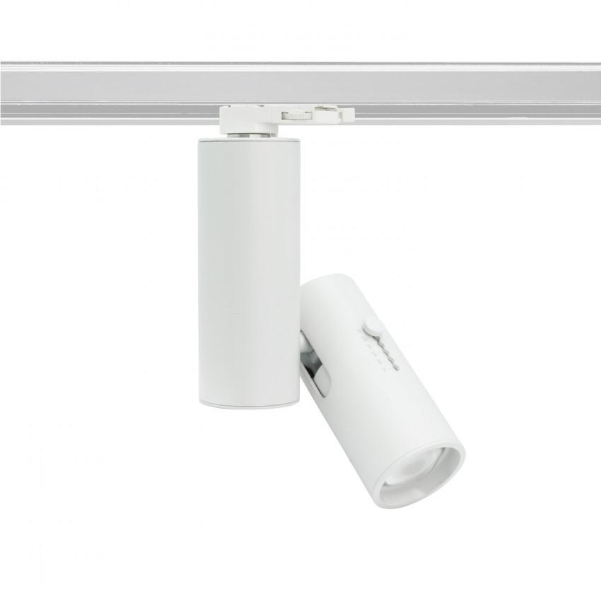 Spot LED Multi-Angle Orientable Halley LIFUD 20W pour Rail Triphasé (3 Allumages)