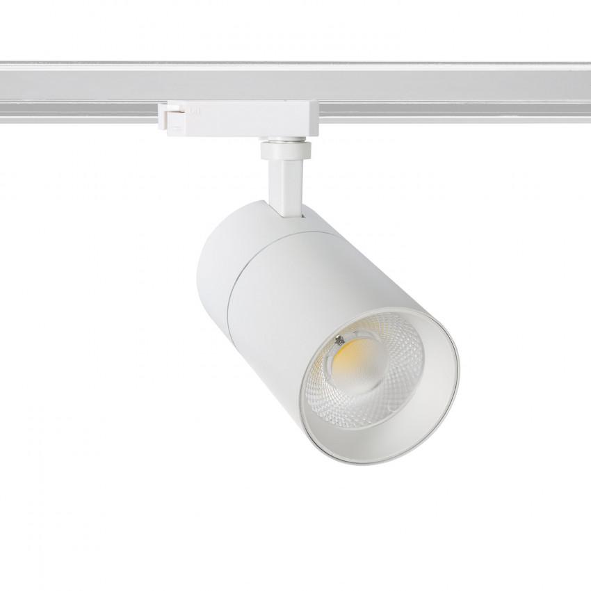 Spot LED New Mallet Dimmable 20W Blanc pour Rail Monophasé (UGR 15)