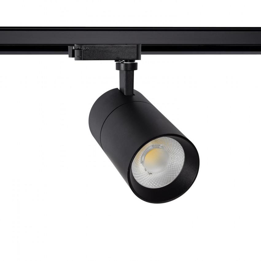 Spot LED New Mallet Dimmable 20W Noir pour Rail Monophasé (UGR 15)