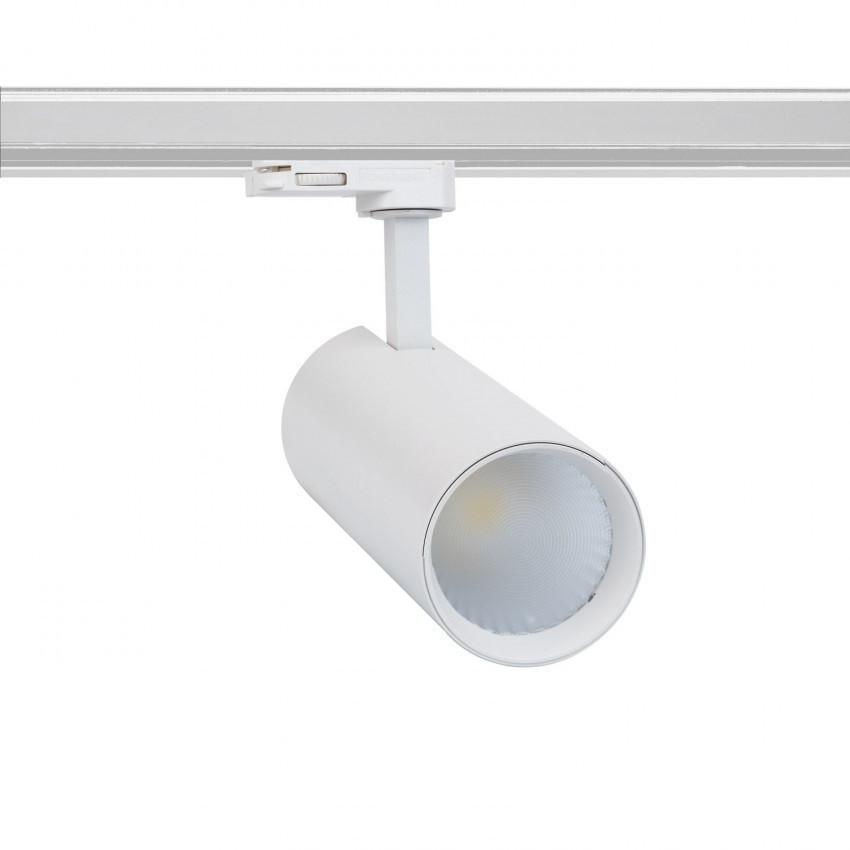 Spot LED New Bertha 30W Blanc LIFUD pour Rail Triphasé (3 Allumages)