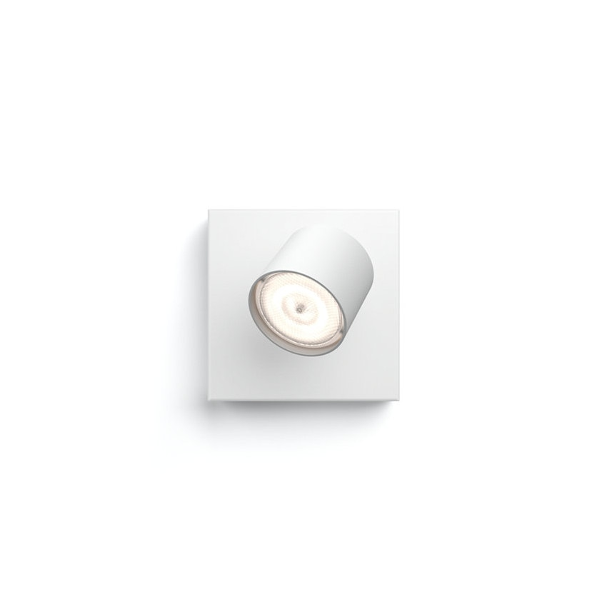 Plafonnier LED Dimmable WarmGlow avec 1 Spot 4.5W PHILIPS Star