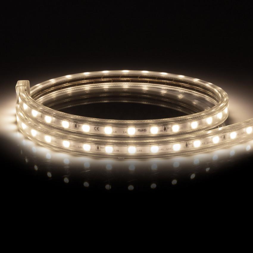 Ruban LED 220V AC 100 LED/m Blanc Neutre IP67 sur Mesure Tous les 25cm