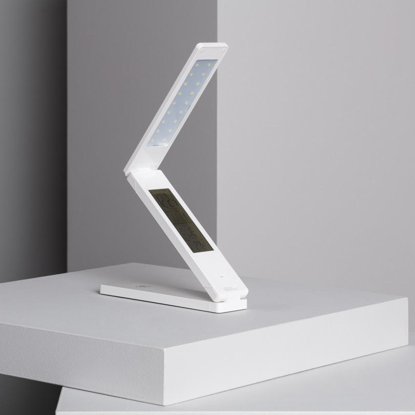 Lampe de Bureau LED Multifonction Pliante 1.8W avec Batterie
