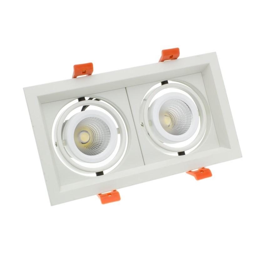 Spot LED Cree-COB Madison Orientable 2x10W LIFUD (UGR 19)