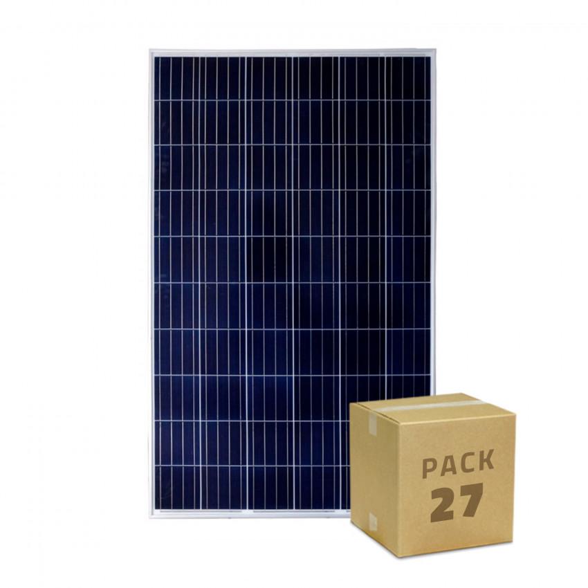 Pack Panneau Solaire Photovoltaïque Polycristallin 275W Classe A (27 un)