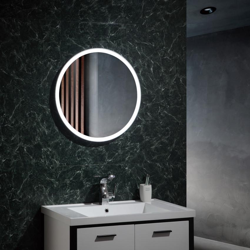 Miroir Décoratif LED Anti-buée Tactile Paradise 25W