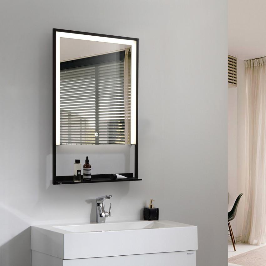 Miroir Décoratif LED Anti-buée Tactile Madère 45W