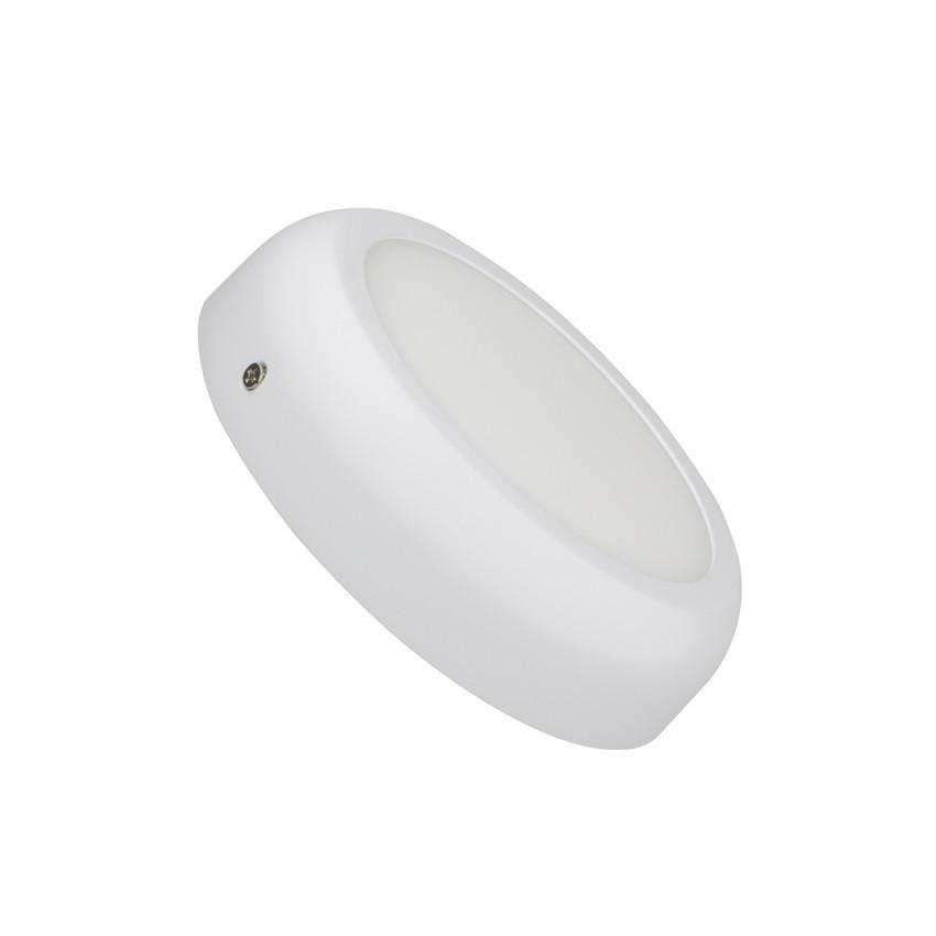plafonnier led rond white design 12w ledkia france. Black Bedroom Furniture Sets. Home Design Ideas