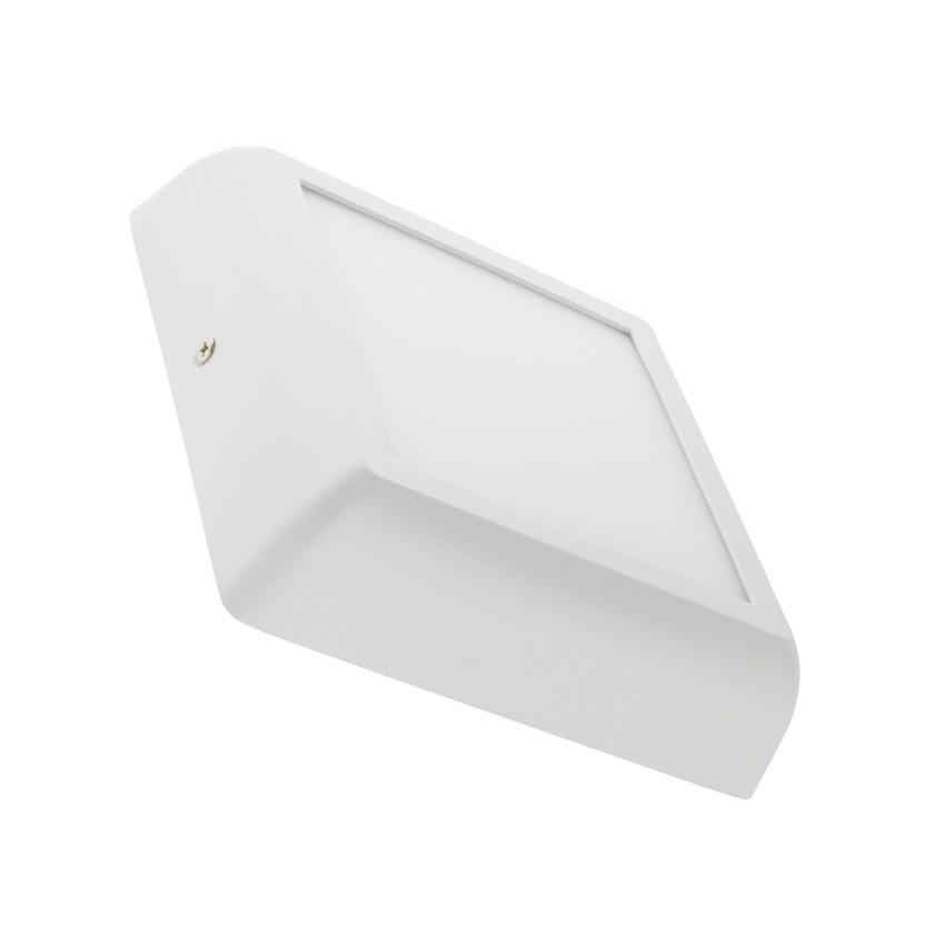 plafonnier led carr design 12w white ledkia france. Black Bedroom Furniture Sets. Home Design Ideas