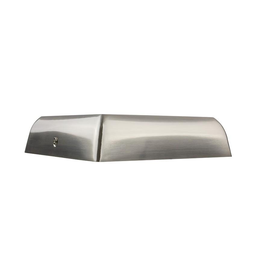 plafonnier led carr design 12w silver ledkia france. Black Bedroom Furniture Sets. Home Design Ideas