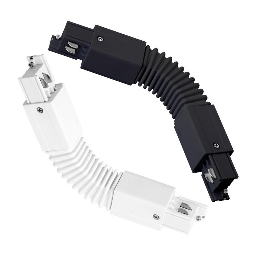 Connecteur Flexible pour Rail Triphasé (3 Allumages)