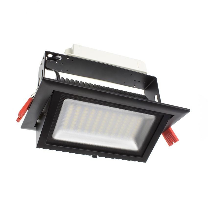 Projecteur LED SAMSUNG 120lm/W Orientable Rectangulaire 48W Noir LIFUD