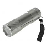 Lampe Torche 9 LED Grise