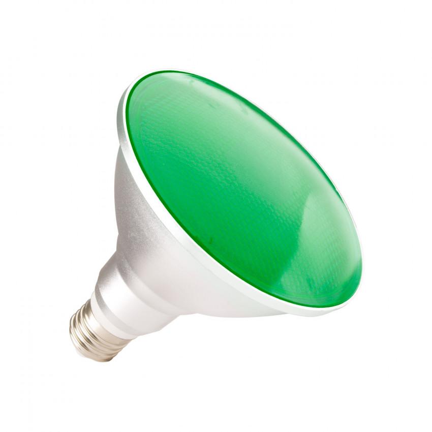 Lampadina LED E27 PAR38 15W Waterproof IP65 Luce Verde